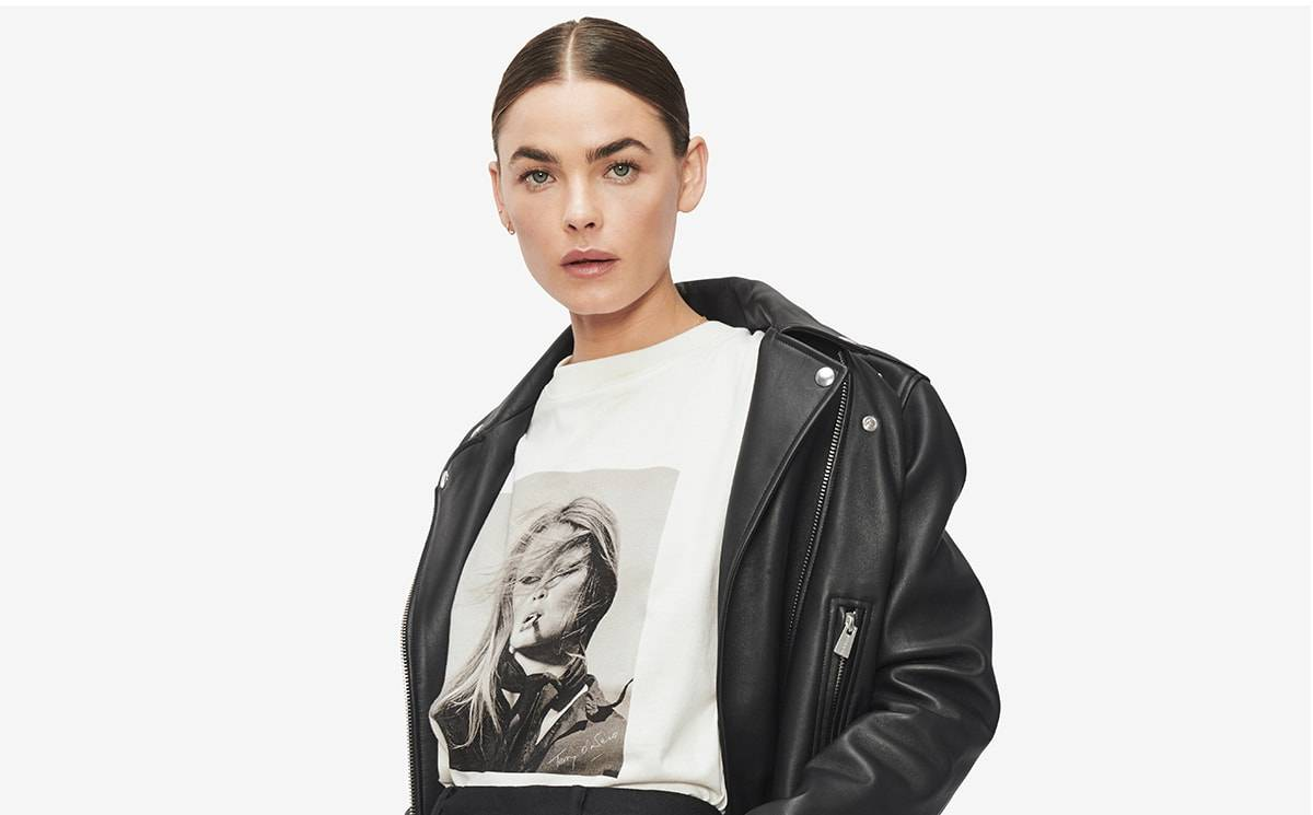 Anine Bing collaborates with photographer Terry O'Neill for limited-edition capsule