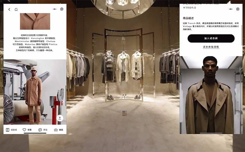 Burberry blends physical and digital with first social retail store in China