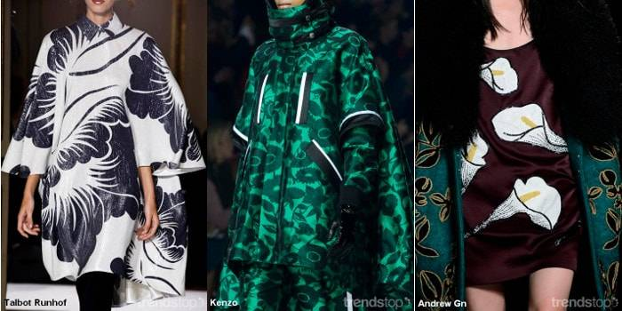 Key Print Trends for Fall/Winter 2016-17 Prints from the Archive