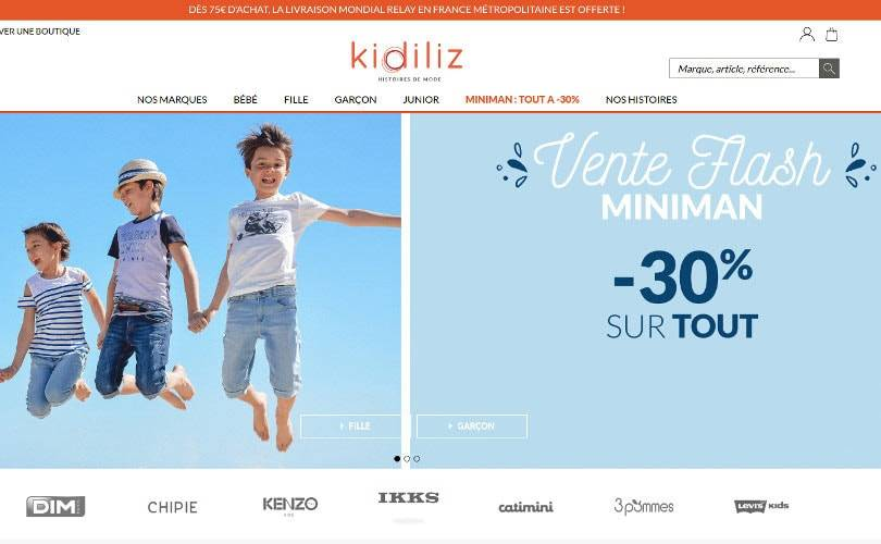 China's Semir and French kids fashion group Kidiliz to merge