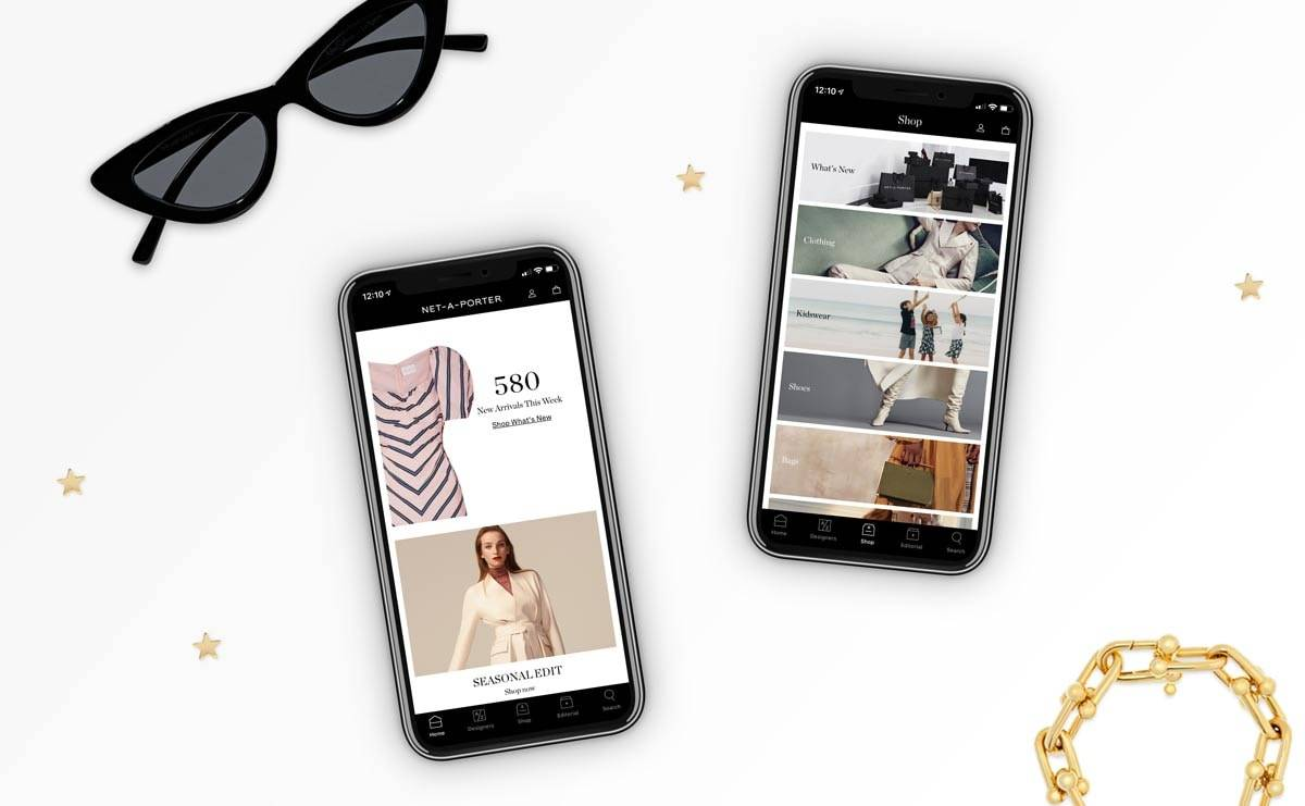 Yoox Net-a-Porter launches upgraded iOS app