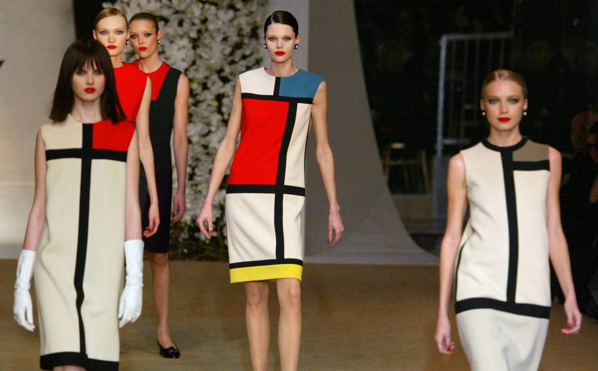 Yves Saint Laurent's Piet Mondrian dress