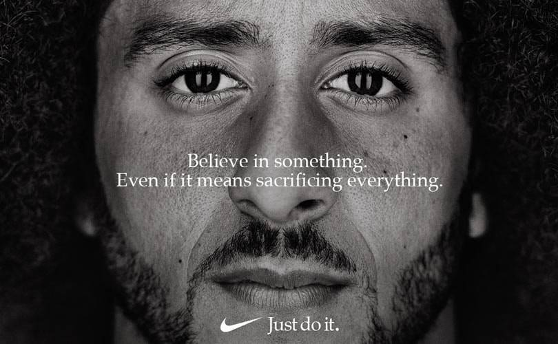 Kaepernick suits Nike well: the company's market value rises by six billion dollars