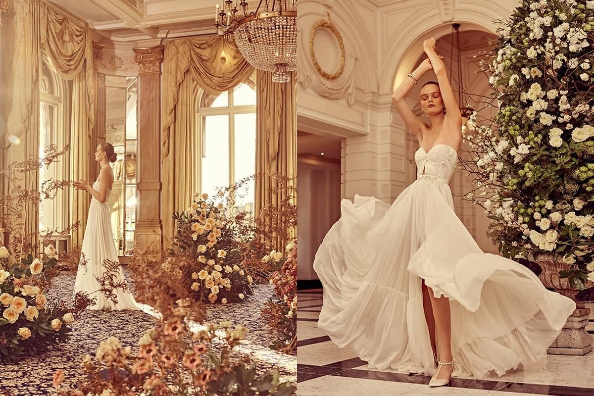 Rêvez avec cette séance photo spéciale Couture in Bloom
