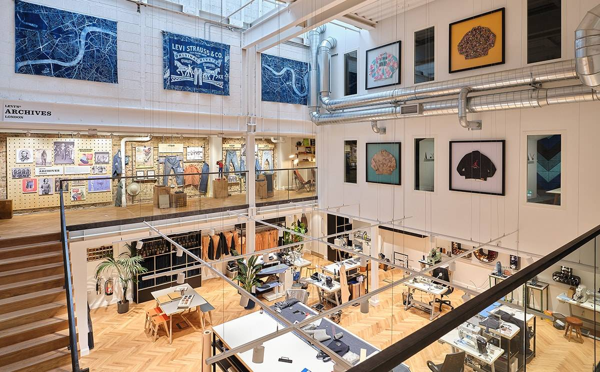 Levi's opens circular-focused concept store in Soho London