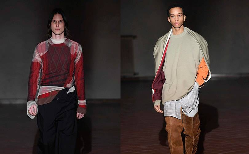 Glenn Martens presents Y/Project AW19 collection at Pitti Uomo