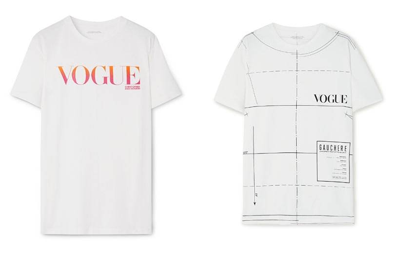 Vogue launches a limited-edition designer T-shirt collection