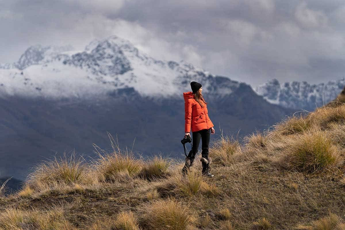 Edmund Hillary launches first women's range