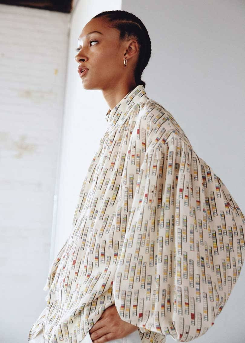 & Other Stories turns data points into a wearable collection
