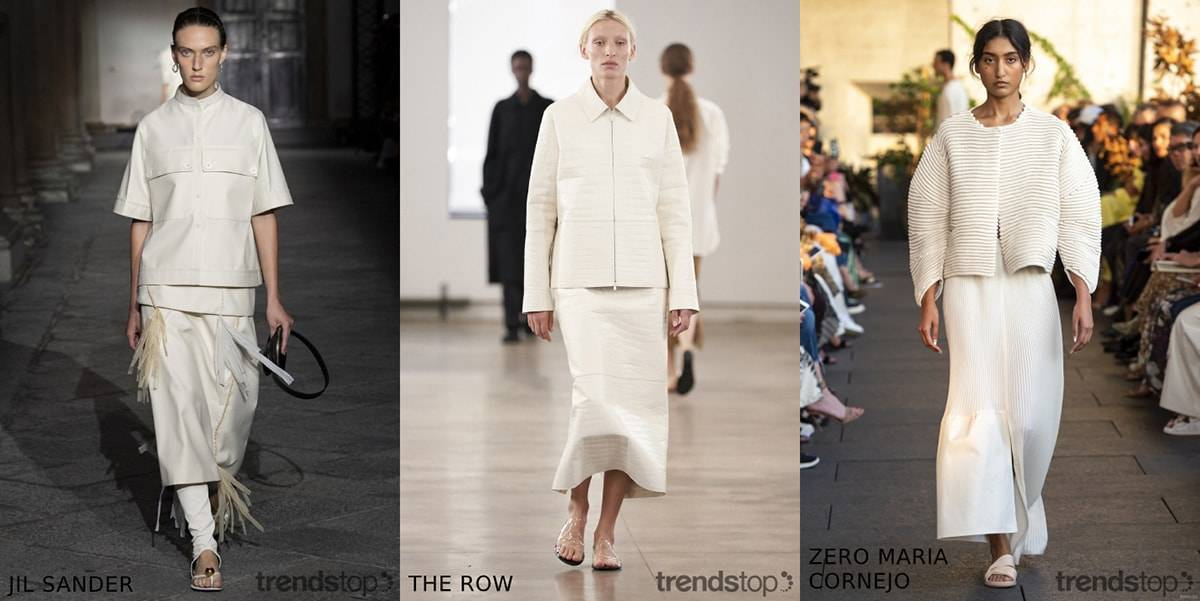 Key Womenswear Colour on the Catwalks Spring Summer 2020