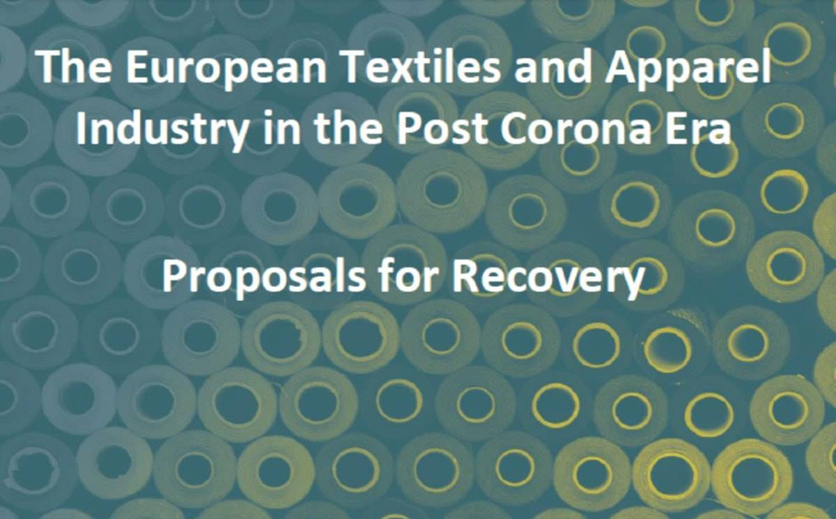 Euratex presents Covid-19 recovery strategy for textile and apparel industry
