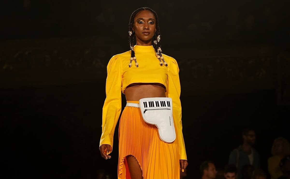 African-American culture shines in praised Pyer Moss NYFW show