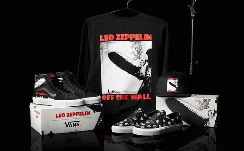 Led Zeppelin to launch collection with Vans
