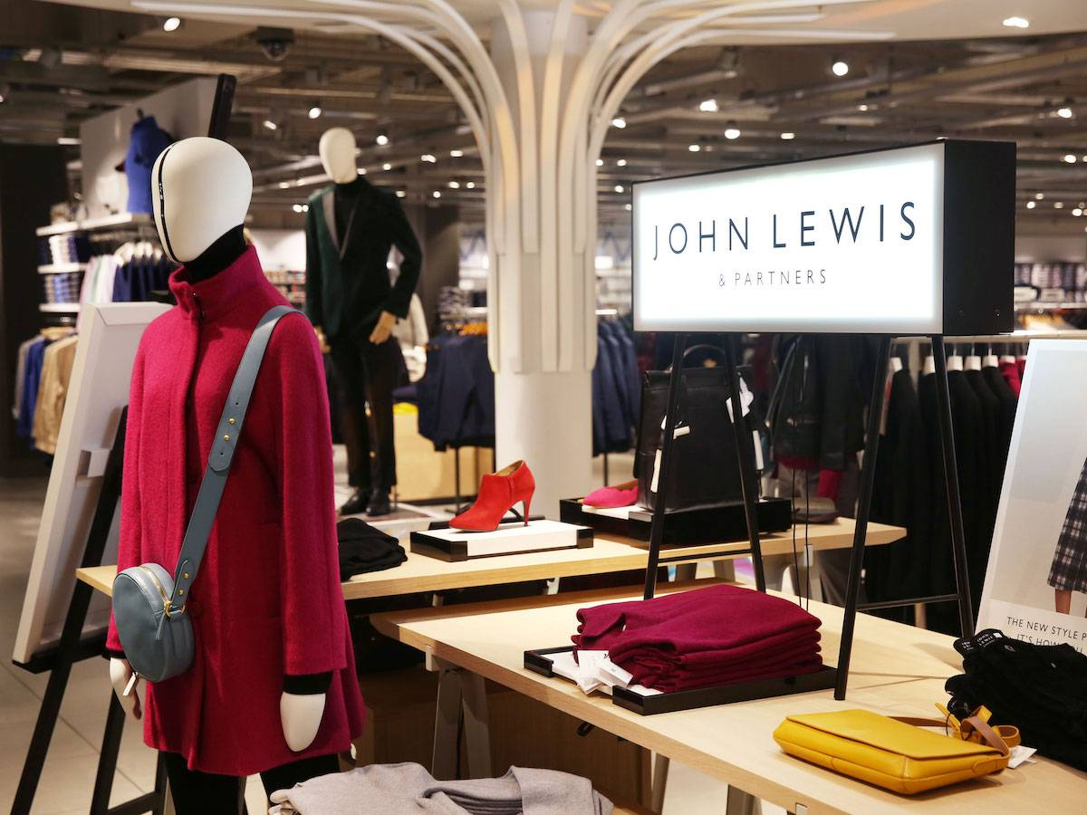 John Lewis weekly fashion sales drop again