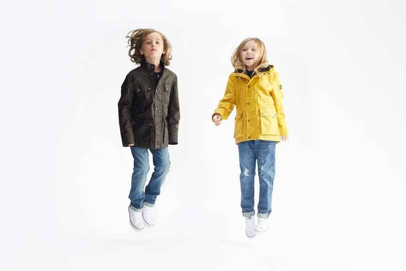 На фотографиях: Belstaff запускает детскую одежду унисекс