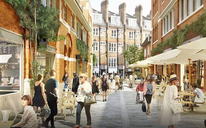 Grosvernor submits plans for new retail destination in Mayfair