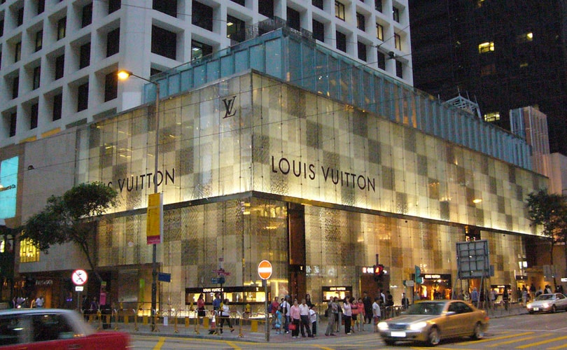 Louis Vuitton struck by China's luxury dip and shutters stores