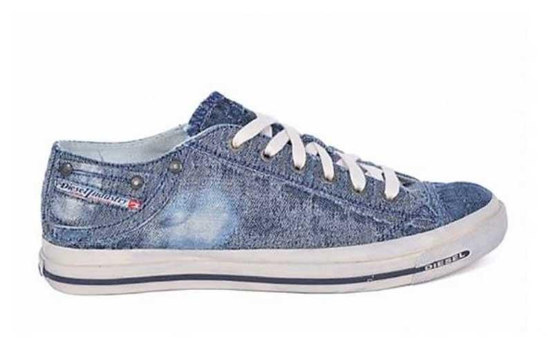 Diesel und ISKO bieten neue Denim-Schuhkollektion an