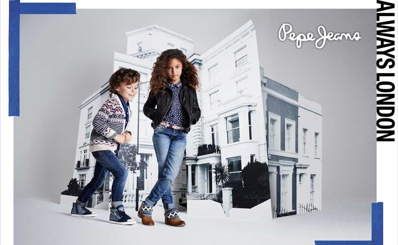 Pepe jeans a w kids line a mix of trendy fashion in - Pepe jeans colombia ...