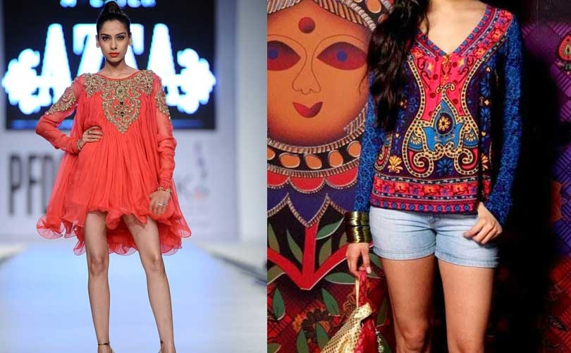 a5d8cdf5b4 Fusion fashion tops the charts in Indian women's wear