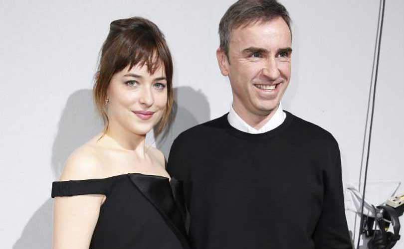 'Raf Simons starts work at Calvin Klein'