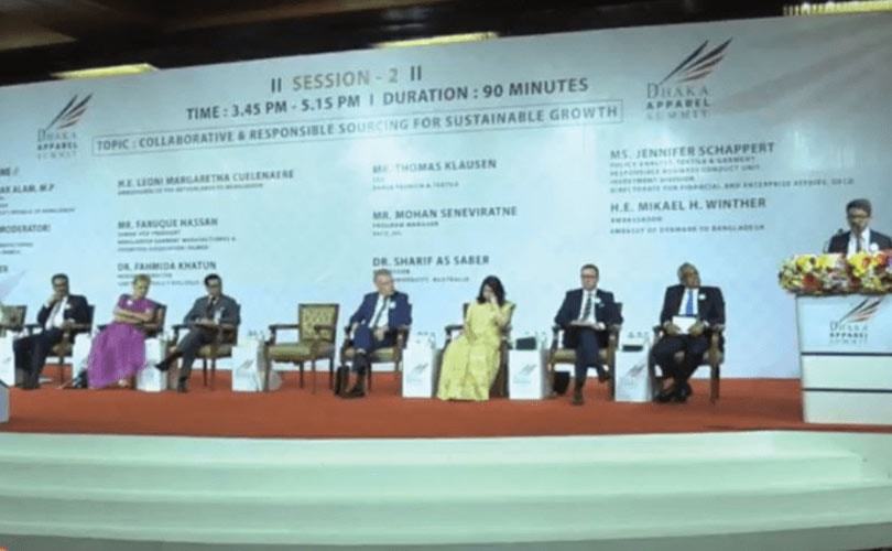 Dhaka Apparel Summit focuses on RMG industry's sustainable future