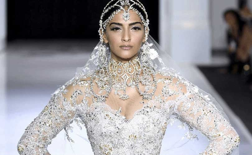 Sonam Kapoor dazzles as showstopper for Ralph & Russo couture show