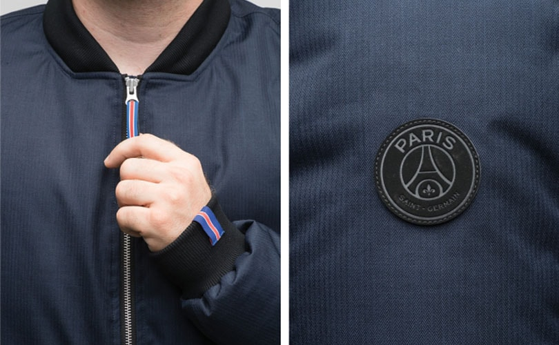 Paris Saint-Germain and Nobis collaborate on outerwear
