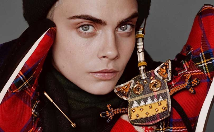 Can Burberry position itself as a super luxury brand?