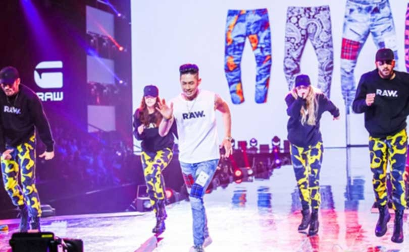 "G-Star RAW debuts at Alibaba's Tmall ""See Now Buy Now"" fashion show"