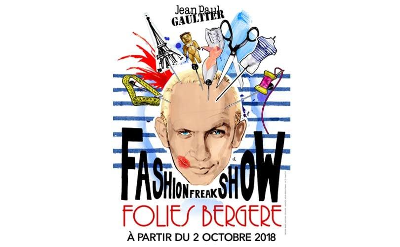 Jean-Paul Gaultier announces 'Fashion Freak Show'