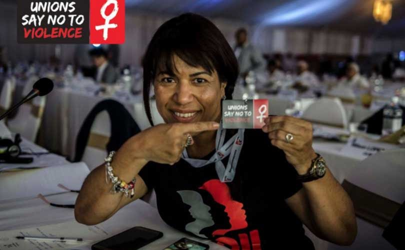 IndustriALL starts campaign to counter violence against women in the workplace