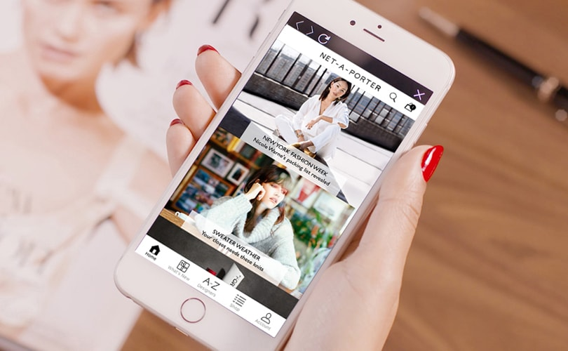 """Yoox Net-a-Porter sees """"surge"""" in mobile orders"""