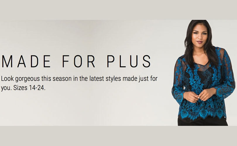 The Limited relaunches online and introduces plus size