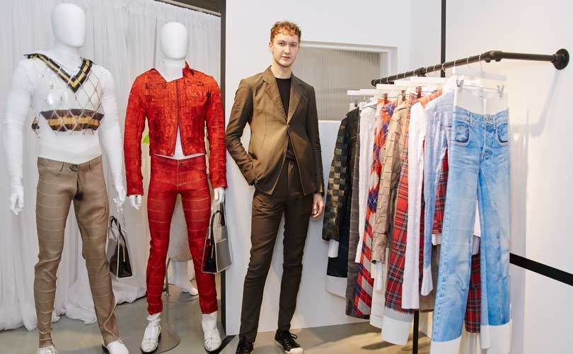 Stefan Cooke is the winner of H&M's Design Award 2018