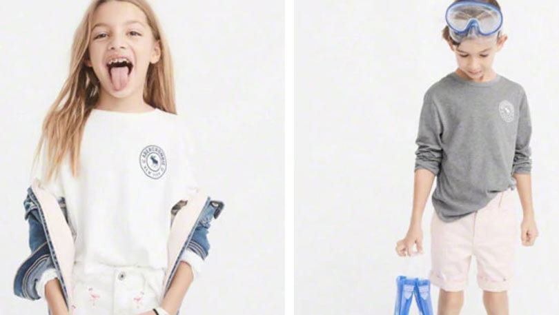 abcd48ba7bc2 In pictures  Abercrombie s new gender neutral collection for kids