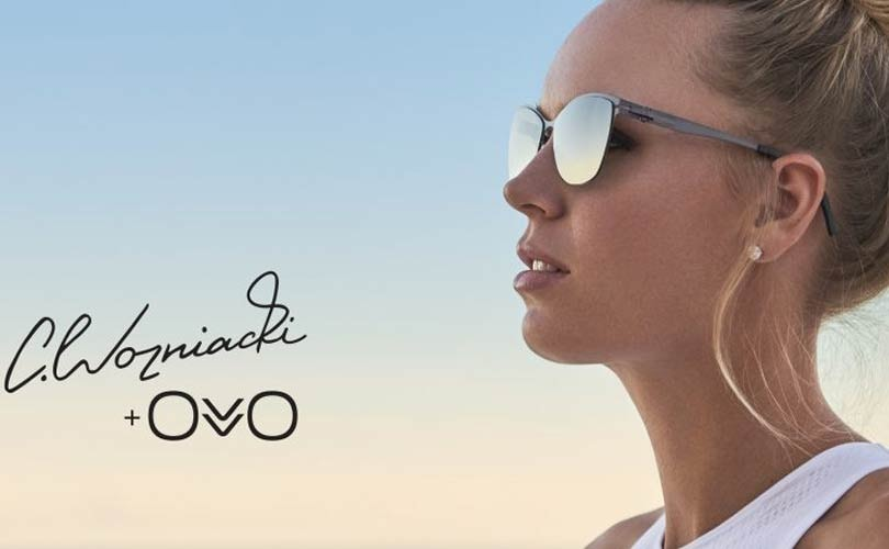 Caroline Wozniacki teams up with Ovvo Optics