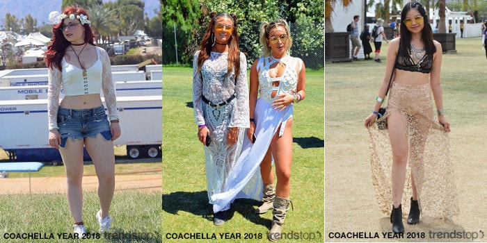 Coachella Festival Street Style Overview