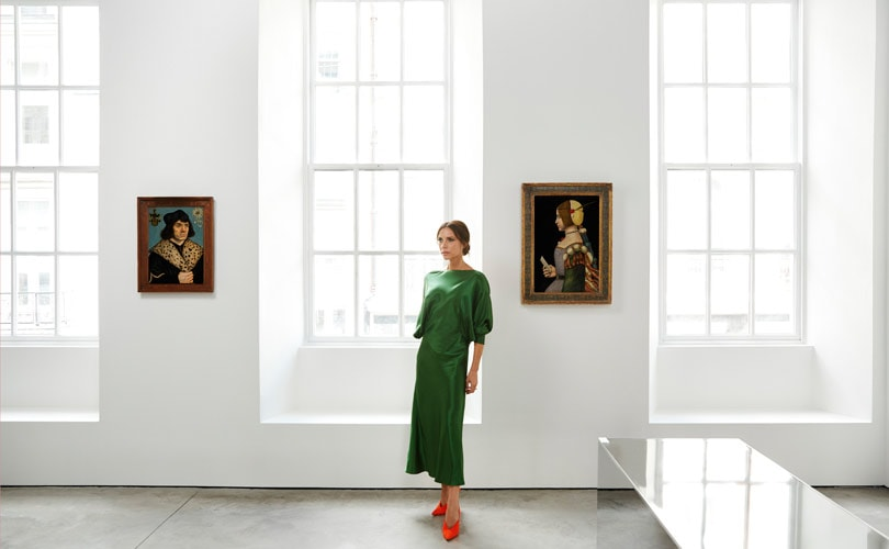 Victoria Beckham partners with Sotheby's