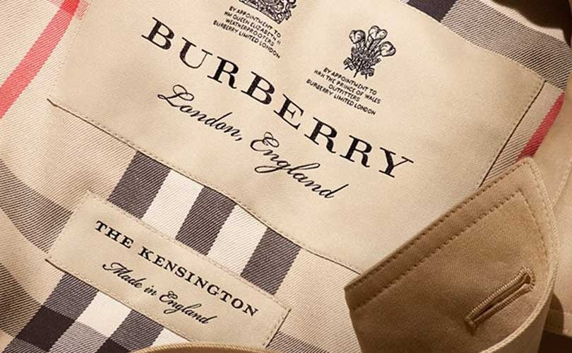 Burberry finally decides to stop destroying unsaleable products