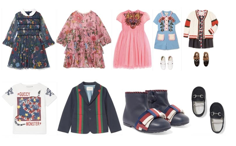 Net-a-Porter enters kidswear category with Gucci pop-up store