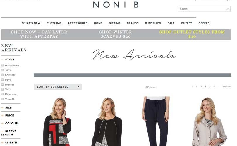 Australia's Noni B targets 70 percent earnings growth in FY18