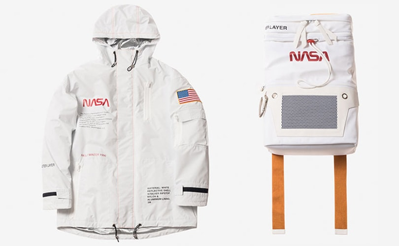 Heron Preston launches collection in celebration of NASA