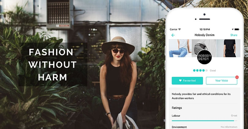 How sustainable is the fashion brand you're buying from? This app tells you