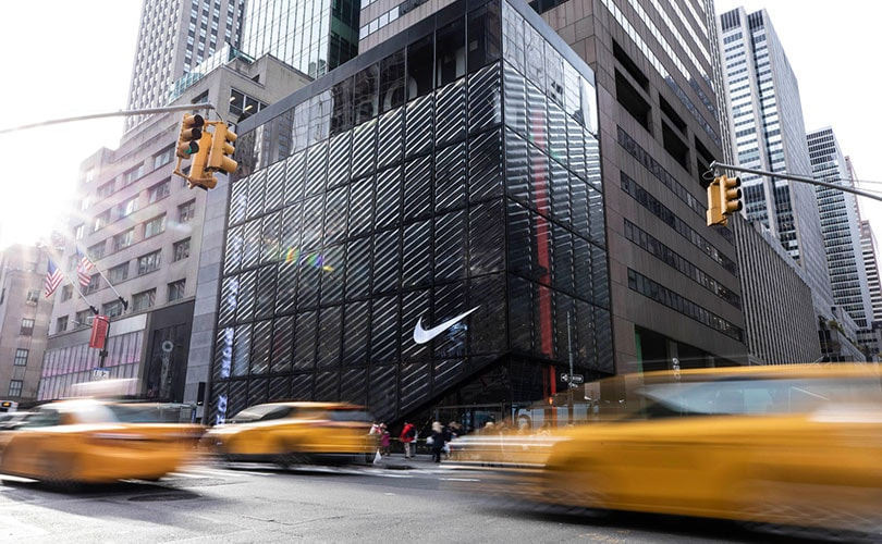 In pictures: Nike's new flagship store in New York