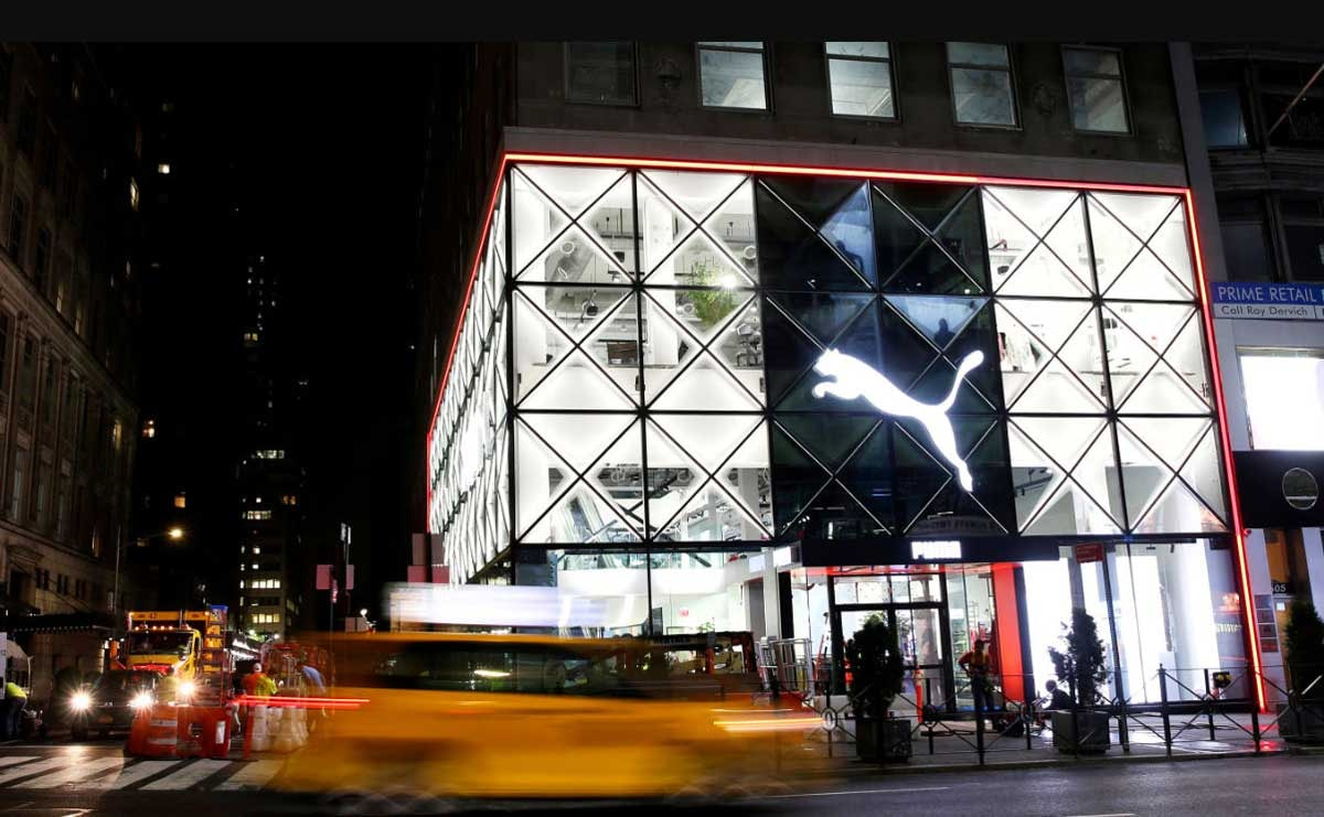 In pictures: Puma's first North American flagship store in New York City