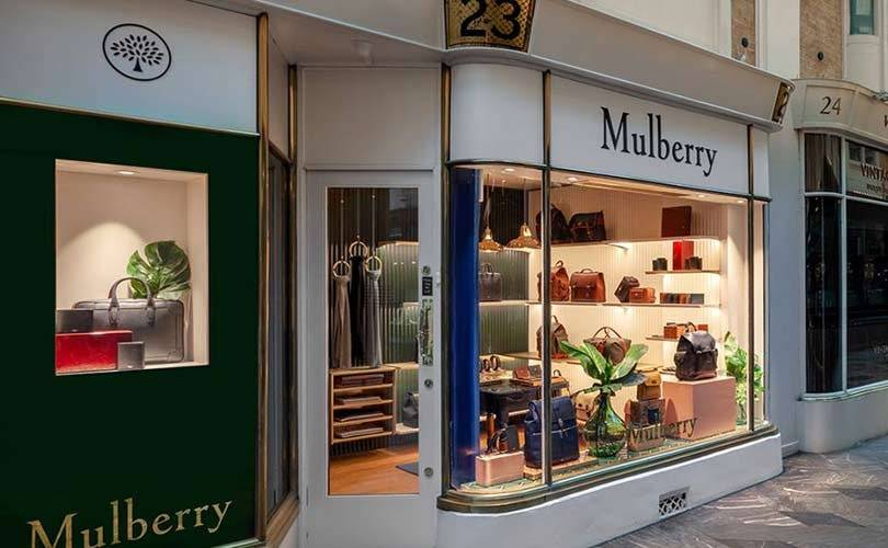 Mulberry finance director steps down