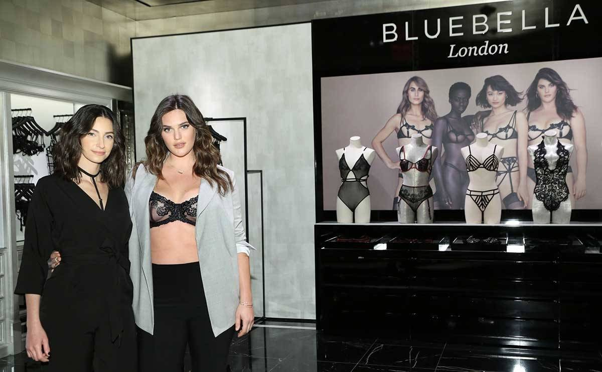 Victoria's Secret launches partnership with British brand Bluebella