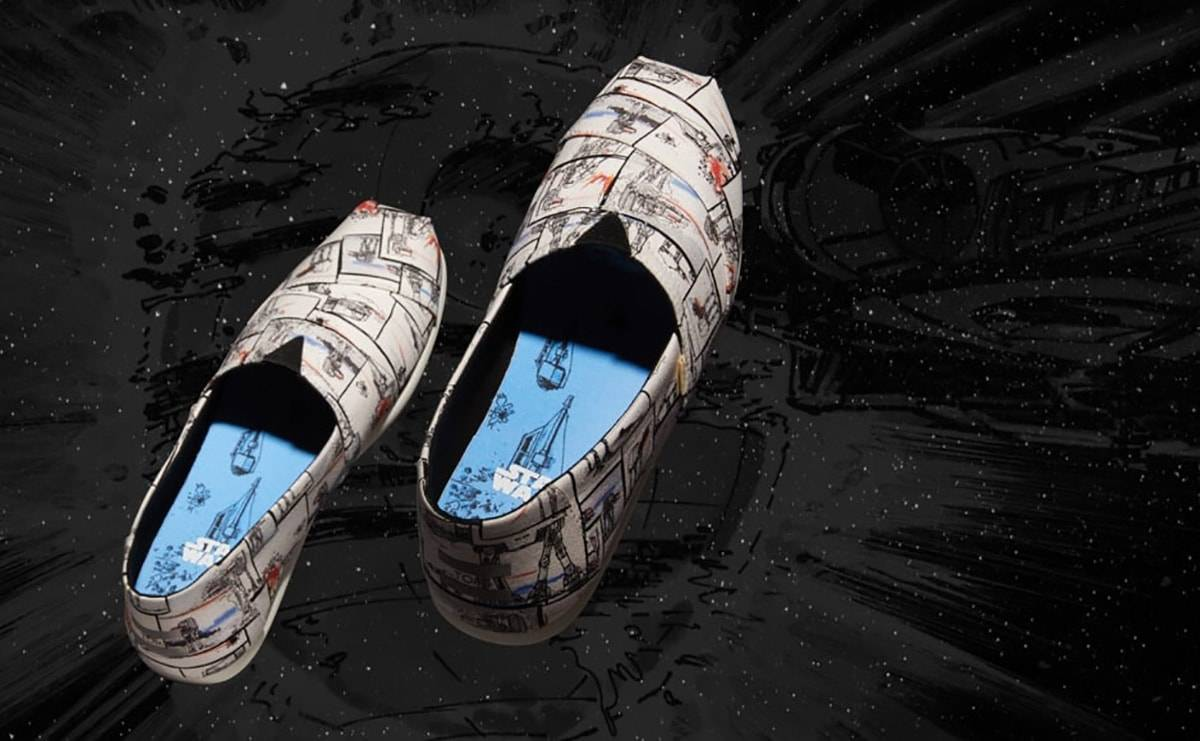 Toms Shoes launches Star Wars collection